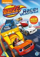 Nuevo Blaze And The Monster Machines - Raza Into Velocityville DVD