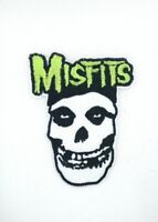 MISFITS CRIMSON GHOST SKULL embroidered Patch - Punk - Iron On 253