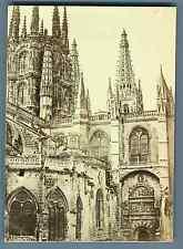 J. Laurent, Espana, Burgos, Catedral, Puerta Pellejeria  Vintage albumen print.