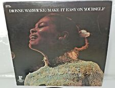 """Dionne Warwick """"Make It Easy On Yourself"""" Pickwick LP SPC-3326, First Pressing"""
