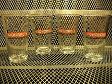 MONOPOLY MILLIONAIRES' CLUB ~ Set of 4 ~ RARE ~ Hasbro 2014 Beer Pint Glasses D
