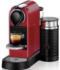 Krups CitiZ&Milk Nespresso XN7605 (rot) Nespresso-Maschine mit Milchschäumer