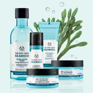 The Body Shop   Seaweed   Cream, Toner, Exfoliator, Cleanser, Mask, SPF   New
