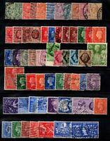 Großbritannien 1902-1953 Gestempelt 100% Eduard VII., König Georg V.