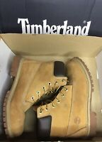 Timberland Men's/Unisex Tan Wheat Nubuck Leather Boots US Size 6M 200 G insulate