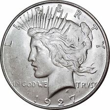 1927-D Peace Dollar Mint State