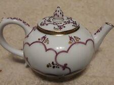Franklin Mint Teapot Victoria and Albert Museum Venice 4.5x3.5 body Excellent