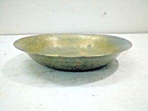 Antique Hand Carved Bronze Baby Body Oil Massaz Bowl good singing Bell