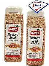 2 Pack - Badia Mustard Seed semilla de Mostaza  24 oz