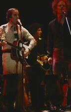 Paul Simon Art Garfunkel early 1970's in concert 35mm original film slide