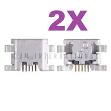 2X ZTE Prelude Avail 2 Z993 Z992 Connector Dock Micro USB Charger Charging Port