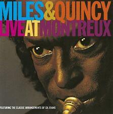 MILES & JONES,QUINCY DAVIS - LIVE AT MONTREUX FESTIVAL  CD NEU