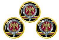 3rd Est Anglian Régiment (Salamanca), Armée Britannique Marqueurs de Balles Golf