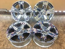 "20"" 20 inch Chevy Silverado 1500 Pickup 2016 Chrome 5755 OEM Wheels Rims Factory"