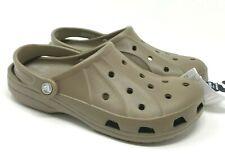 Crocs Ralen Clog Mens Size 11 Walnut Brown  >>  NEW