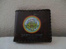 """""""Castle Park Hawaii"""" Boys Vintage Brown Wallet"""