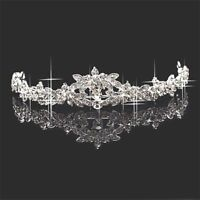 Princess Bridesmaid Prom Rhinestone Crystal Tiara Wedding Headband Headpiece