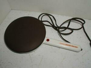 Vintage Contempra Automatic Electric Crepe Maker Teflon Coated Model C-100