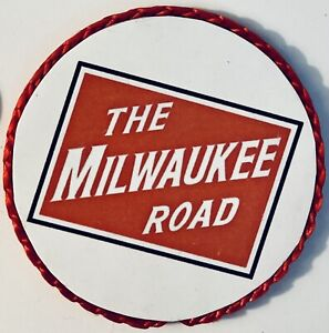 The Milwaukee Road Railroad Handmade Magnet, Railfan Gift