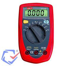 Multímetro Polímetro Digital Tester corriente AC/DC Medidor Comprobador UT-33A