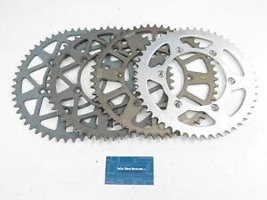 53, 52, 50 Tooth Aluminum Rear Sprocket Lot - Suzuki RM RMZ DR DRZ 125 250 450 T