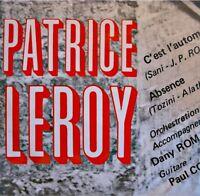++PATRICE LEROY c'est l'automne/absence SP CAIAC RARE EX++
