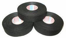 TESA kfz Gewebeband mit Vlies 51608, 25mm x 25m  3-er Set Klebeband Isoband Tape