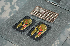 KILLER ELITE RANGER PATHFINDERS NINJA NETWORK 3-TAB: SPARTAN HELMET + US Flag BB