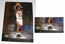 Michael Jordan 2000 UD Hologram Gold Signature 1992 2ND STRAIGHT TITLE Card #2