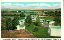 1917. THE DALLES AUTO PARK. OREGON. POSTCARD UPA15