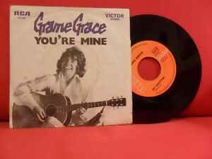 GRAME GRACE You're Mine 7/45 NMINT '75 GLAM ROCK SCARCE MADE IN PORTUGAL