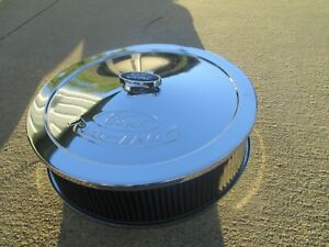 Ford Racing Air Cleaner Proform 302-350 and K&N Filter E1540