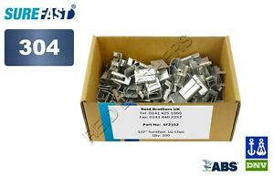 SureFast 304 Stainless Steel Clips