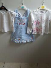 Girls Age 2-3 disney pinafore & tops