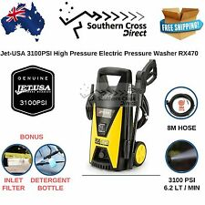 Jet-USA Electric Pressure Washer 3100PSI Attachments Included