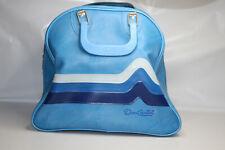 New listing Don Carter Bowling Ball Bag Blue Chevron Rack Rockabilly Vintage
