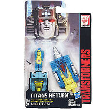 Transformers Generations Titans Return Wave 4 Master Class # Nightbeat