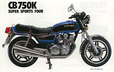HONDA Poster CB750 K CB750K 1980 1981 1982 Suitable to  Frame