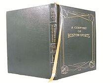 'EASTON PRESS' A CENTURY OF BOSTON SPORTS 2002 VG+ LEATHER
