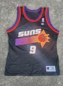 Dan Majerle Phoenix Suns Purple Vintage Champion NBA Jersey Size 40 M RARE