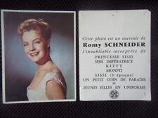 ROMY SCHNEIDER - FLYERS 1957 SISSI - KITTY - MONTPI...ETC...