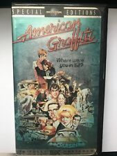 American Graffiti VHS 1998 25th Anniversary Special Edition Clamshell Universal