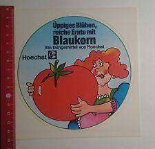 Aufkleber/Sticker: Hoechst Üppiges Blühen reiche Ernte mit Blaukorn (09111625)