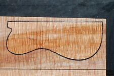 """Awesome Quilted Curly Maple 20 1/2"""" X 11"""" X 1"""": Guitar, Luthier, Craft, Scales"""