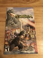 Godzilla: Save the Earth (Sony PlayStation 2, 2004) * Manual only*