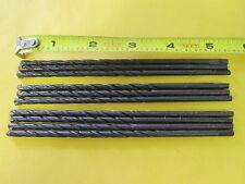 "20PC  3/16"" x 5.5"" Long Carbide Tipped HSS Drill Bits (QTY 20) US Seller"