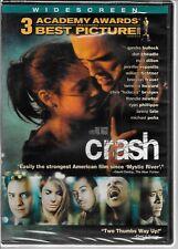 CRASH, 2004 Film, Crime /Drama, Sandra Bullock, Don Cheadle, Matt Dillon NEW DVD