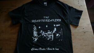 THE HEARTBREAKERS T-Shirt Size XL.Punk,New York Dolls,Johnny Thunders,Ramones