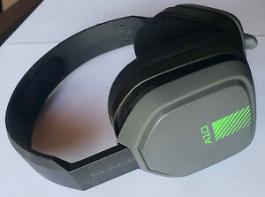 USED Gray Green ASTRO Gaming A10 Wired HEADSET ONLY for XBox One PS4 PC Mac