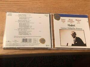 CD Heifetz - Schubert, Brahms, Beethoven